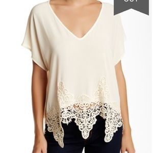 ASTR short sleeve blouse